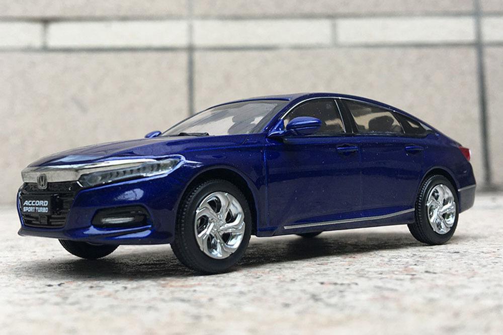 Коллекционная модель HONDA ACCORD 10 2019 BLUE