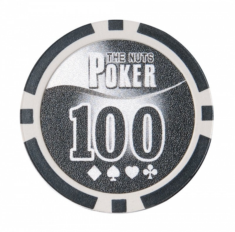 Набор для покера NUTS на 500 фишек фишка номиналом 100