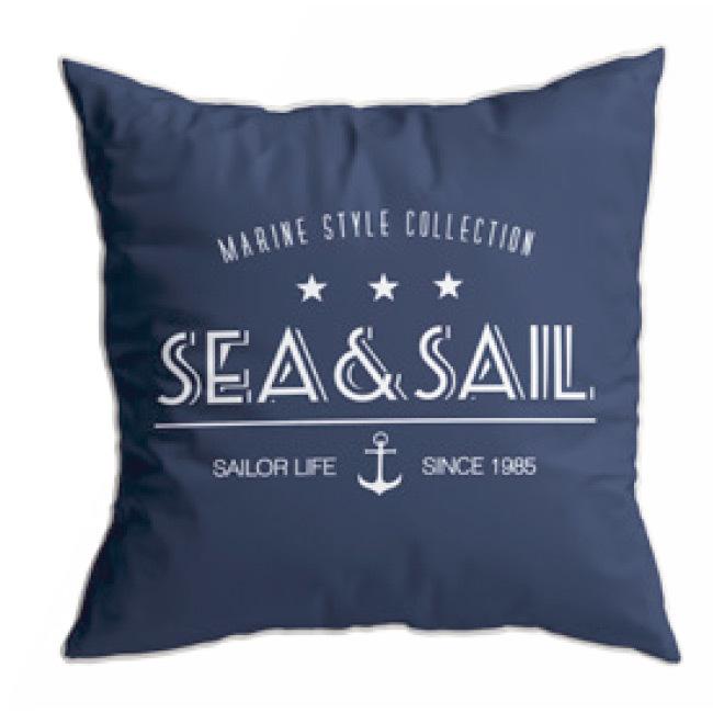 Santorini cushion set / sea&sail / blue