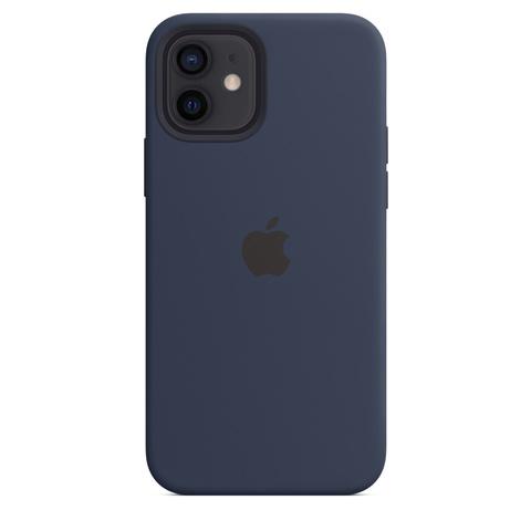 Apple Silicone Case на iPhone 12/12Pro (Темный ультрамарин)