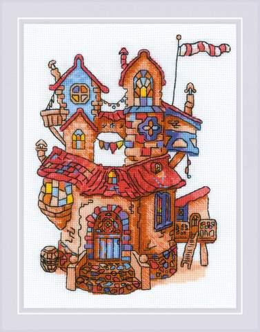 Набор для вышивания крестом «Сказочный домик» (1844)