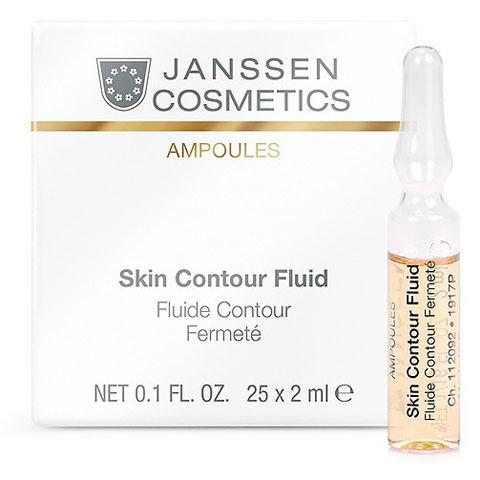 Janssen Ampoules: Anti-age лифтинг-сыворотка в ампулах с пептидами, стимулирующими синтез эластина (Skin Contour Fluid)