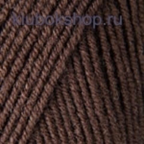 YarnArt Merino De Luxe (50) 16 Шоколад, пряжа, фото
