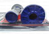 Мото грипсы RENTHAL, ручки руля, серый-синий
