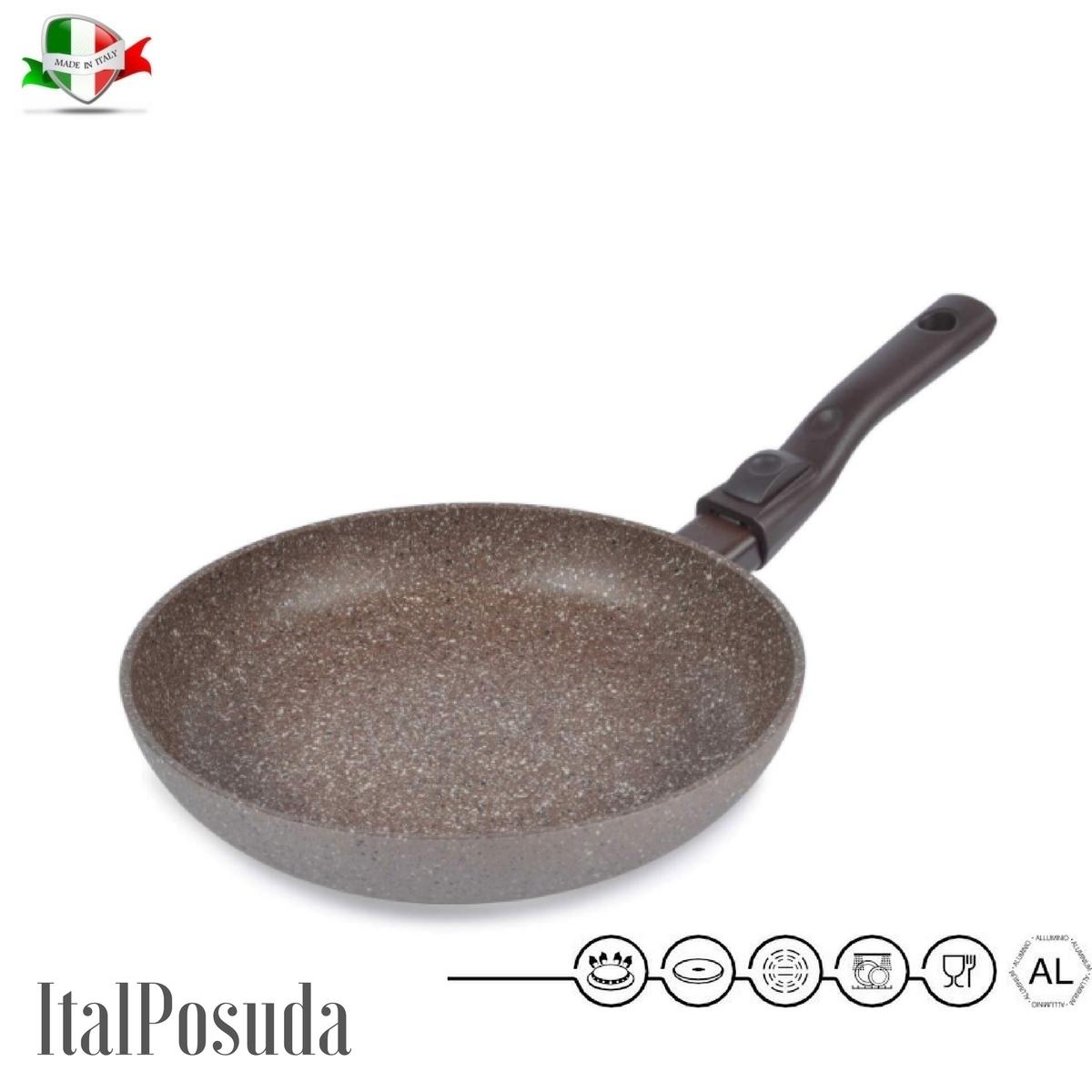 Сковорода со съёмной ручкой TIMA Art Granit, 28 см