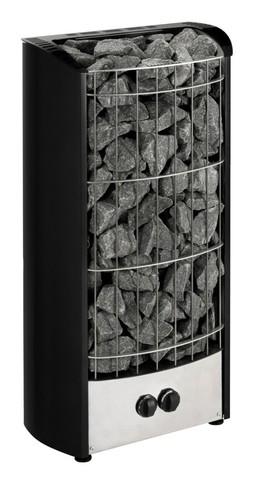 Печь электрическая Harvia Figaro FG70, чёрная, со встроенным пультом