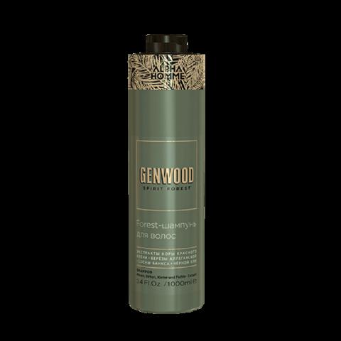Forest-шампунь для волос и тела Genwood, 1000 мл