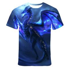 Футболка 3D принт, Дракон (3Д Dragon) 07