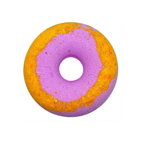 Cafe mimi Гейзер для ванны Клубнично-банановый пончик 140г
