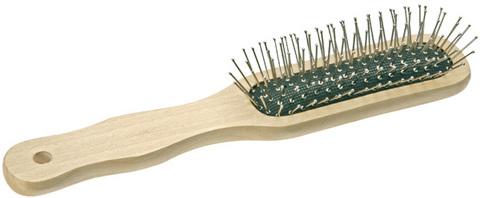 Щётка деревянная узкая Titania