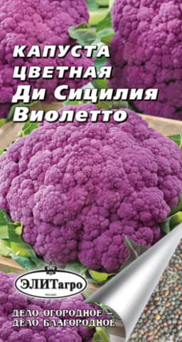 Семена Капуста цветная Ди Сицилия Виолетто