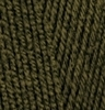 Пряжа Alize Lanagold 800 214 (Зрелая олива)