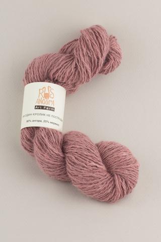 Пряжа ручной работы из 100 % ангоры, цвет английский розовый