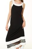 Стильное черное платье Twin-Set