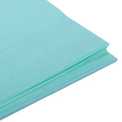 Бумага тишью, мятная 76 Х 50 см, 10 листов  28 г/м