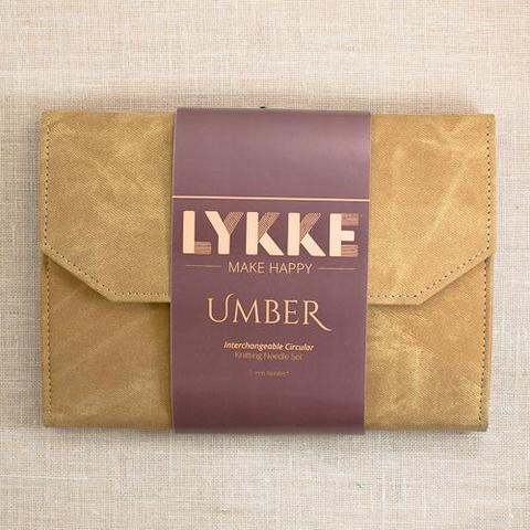 Набор съемных спиц  LYKKE UMBER
