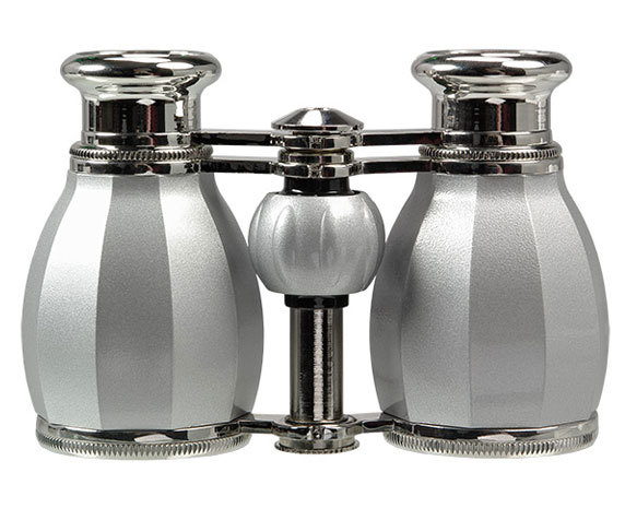 Колесо фокусировки бинокль Veber БГЦ 4x30 серебро/серебро