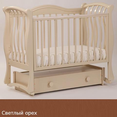 """БИ 08.4 """"Маргаритка"""" кровать универсальная (светлый орех)"""
