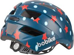 Велошлем детский (52-56см) Bobike Helmet Plus S Navy Stars - 2