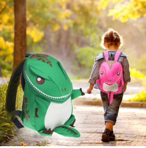 Динозаврик детский водонепроницаемый рюкзак