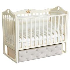 Кровать детская Антел Каролина-5 с мягким фасадом
