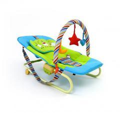 Шезлонг детский с игрушками Milly Mally Maxi