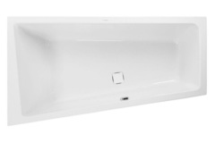 Ванна акриловая VAGNERPLAST (Вагнерпласт) Cavallo OFFSET 160 см L левая