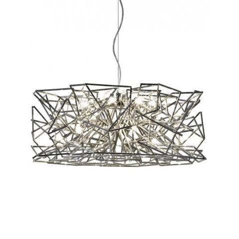 Подвесной светильник копия Etoile by Terzani Round (серебряный)