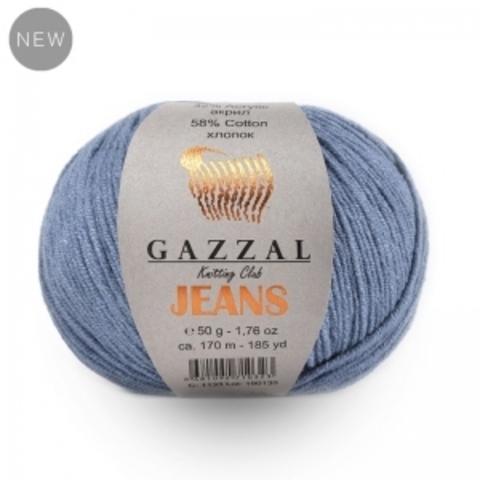 GAZZAL JEANS (58% Хлопок, 42% Полиакрил, 50гр/170м)