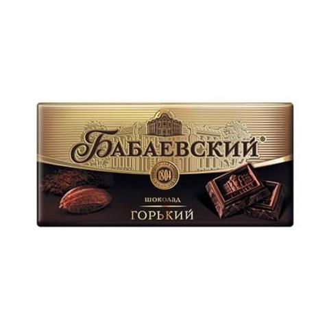 Шоколад Бабаевский горький, 100 гр.