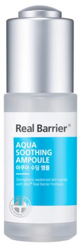 Купить Real Barrier Aqua Soothing Ampoule - Ампульная сыворотка для чувствительной кожи