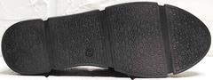 Женские спортивные туфли кеды с черной подошвой Mario Muzi 1350-20 Black.
