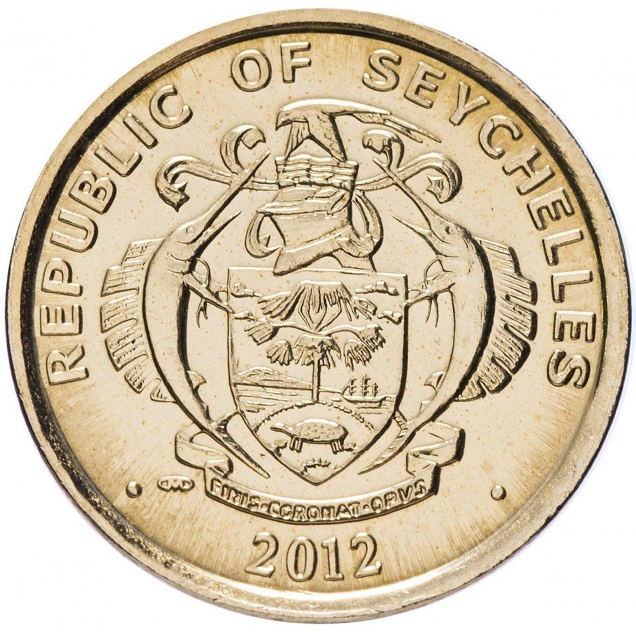 5 центов. Сейшелы. 2012 год. UNC