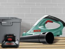 Аккумуляторная воздуходувка Bosch ALB 18 LI (Без аккумуляторного блока и зарядного устройства)