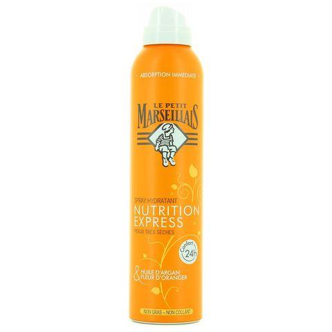 """Спрей для тела """"Le Petit Marseillais"""" увлажняющий: масло арганы и цветок апельсинового дерева 200мл"""