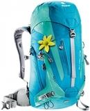 Картинка рюкзак туристический Deuter Act Trail 22 Sl Petrol-Mint -