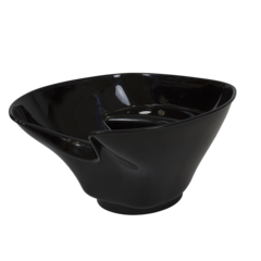 Парикмахерская мойка ЭКО, комплектация черной пластиковой раковиной