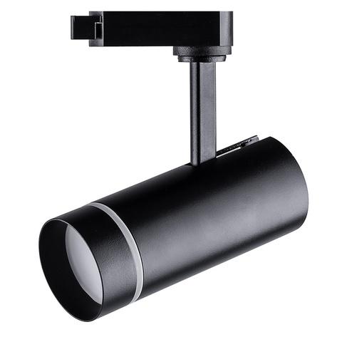 Трековый светодиодный светильник FERON AL106 12W 4000K 80° черный