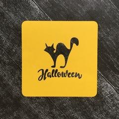 Кот на хэллоуин №1