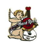 Значок Hard Rock Cafe - New York - Valentine's'99