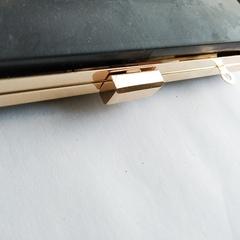 Каркасный рамочный замок (клатч-бокс)  прямоугольный 20*12 см, УЦЕНКА