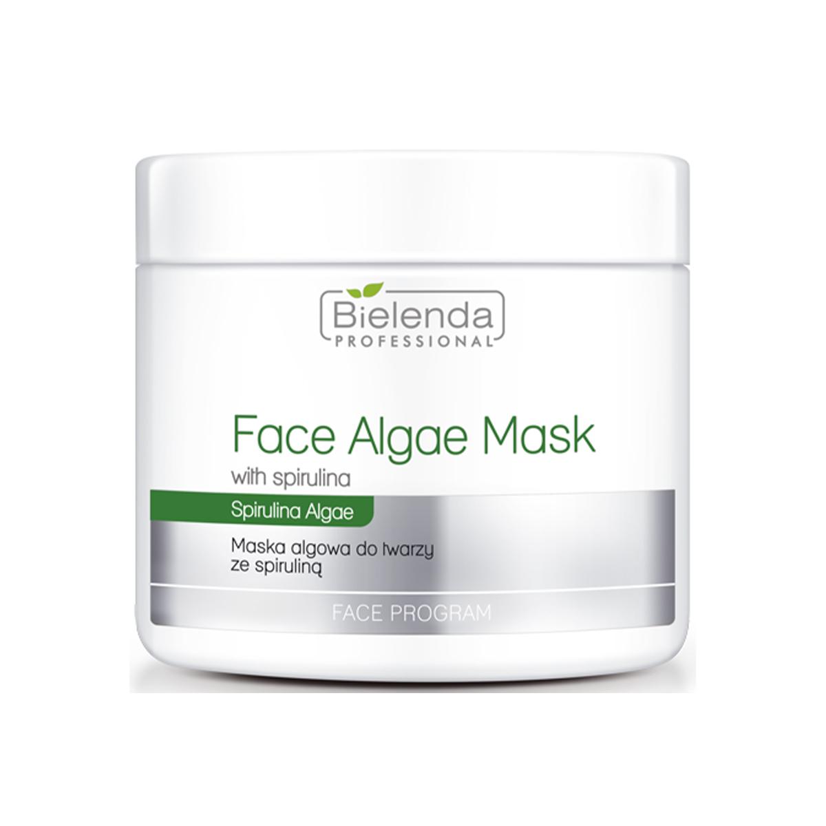 Algae mask Альгинатная маска для лица со спирулиной, 190г.