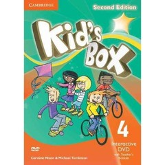 Kid's Box Updated Edition Second Edition 4 Inte...