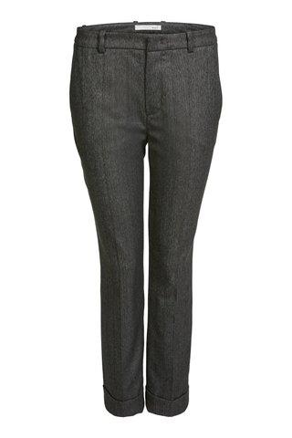 Брюки серые  7/8 STRAIGHT LEG Oui арт.63624