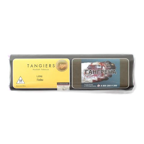 Табак для кальяна Tangiers Noir (желтый) 39 New Lime 250 гр