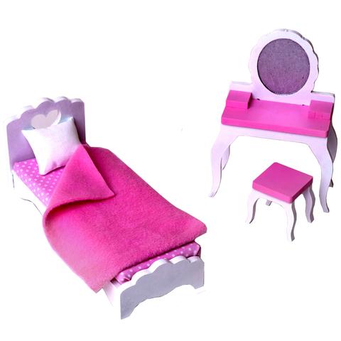 SunnyWoods Спальня - набор кукольной мебели NM212010