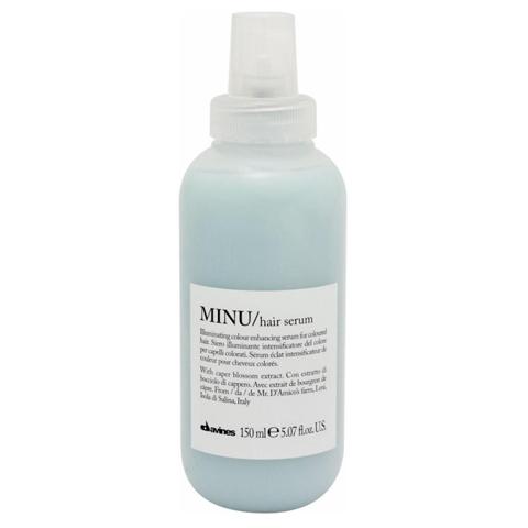 Davines Essential Haircare MINU: Несмываемая сыворотка для окрашенных волос (Minu Hair Serum)