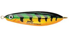 Незацепляйка RAPALA Rattlin' Minnow Spoon 8 см, цвет FLP