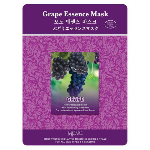MIJIN Маска тканевая виноград Grape Essence Mask