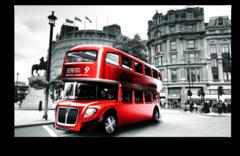 """Постер """"Лондонский автобус"""""""
